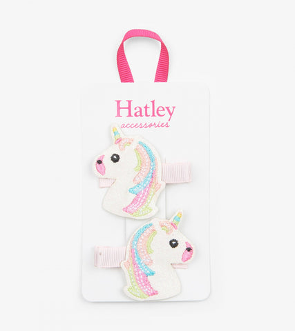 Hatley - Glitzy Unicorn Glitter Hair Clips