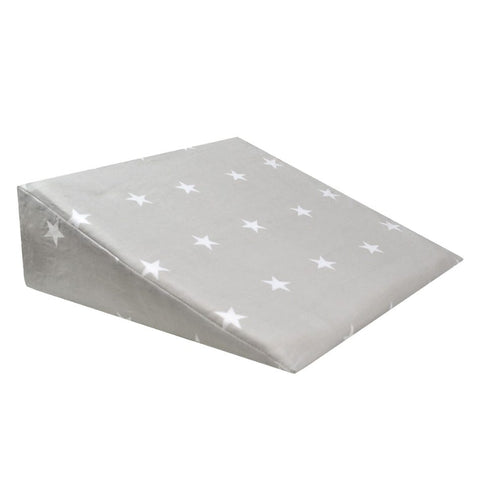 Perlimpinpin Wedge Pillow - Grey Stars
