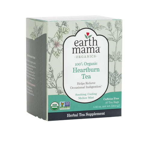 Earth Mama Organics - Heartburn Tea