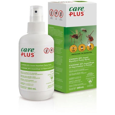 Care Plus Icaridin 20% Deet Free Insect Repellent - 200ml