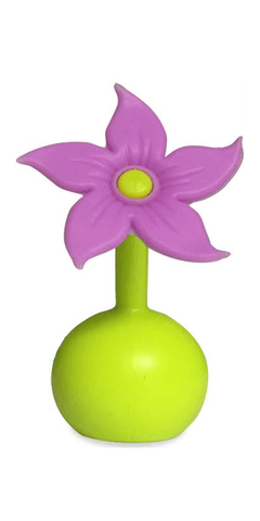 Haakaa Silicone Breast Pump Purple Flower Stopper
