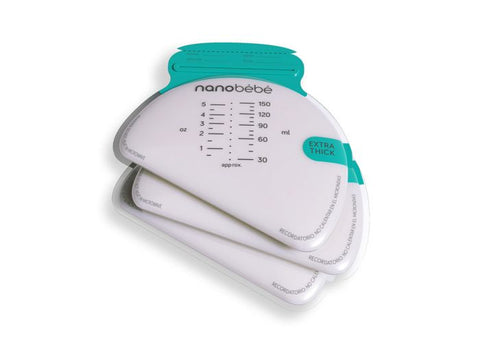 Nanobébé Breastmilk Storage Bags (50 pc)