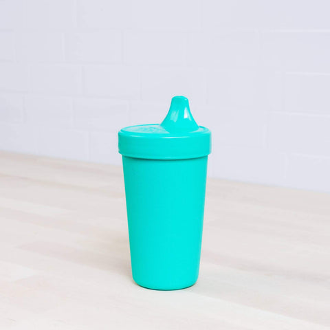 Re-Play  No-Spill Sippy Cups - Aqua