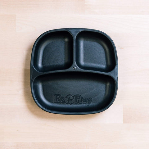 Re-Play Divided Plates - Black