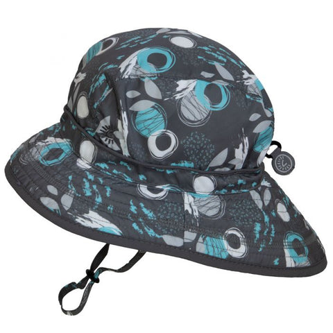Calikids UV Beach Hat - Grey Print