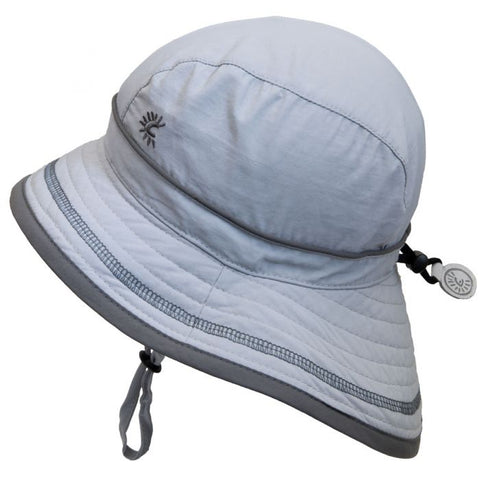 Calikids UV Beach Hat - Harbor Grey