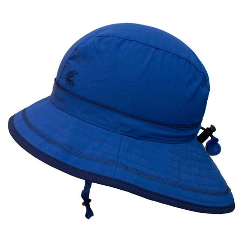 Calikids UV Beach Hat - Nautical Blue