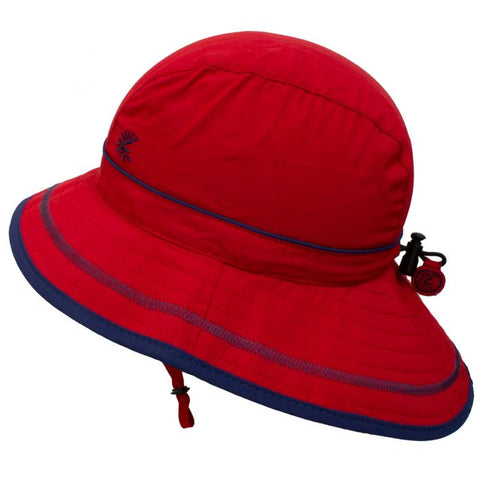 Calikids UV Beach Hat - Racy Red
