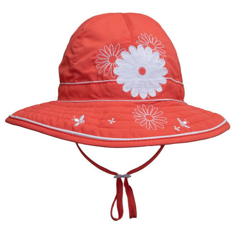 Calikids UV Adjustable Hat - Coral