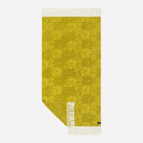 Slowtide French Bloom Towel Mustard