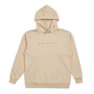 Brixton Cantor Hooded Jumper Khaki
