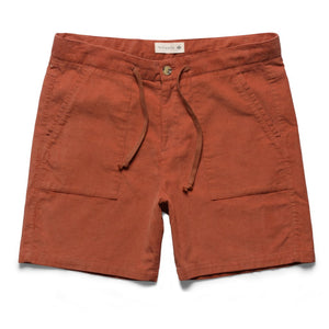 Mctavish Cord Pocket Walk Shorts Coral