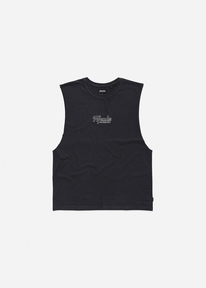 Afends Holidaze Tank Black
