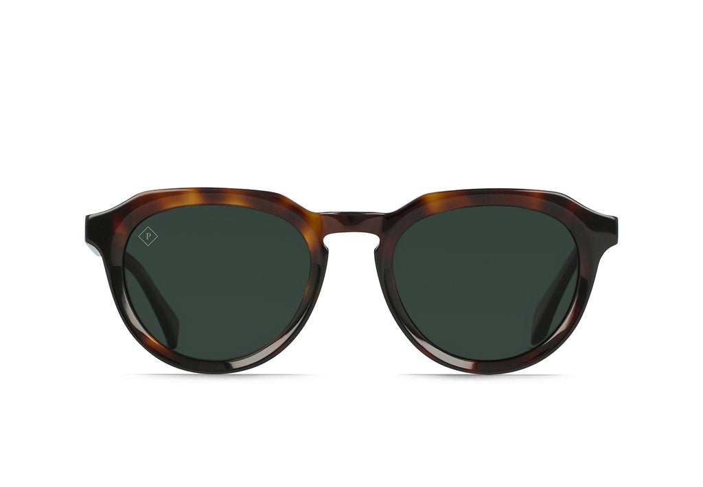 Raen Sage Sunglasses Kola Tortoise(Green Polarized)
