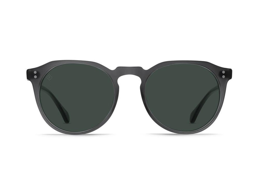 Raen Remmy Sunglasses Matte Grey Crystal(Green Polarized)