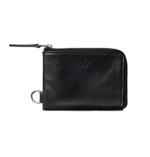 Atlas Medium Black Wallet