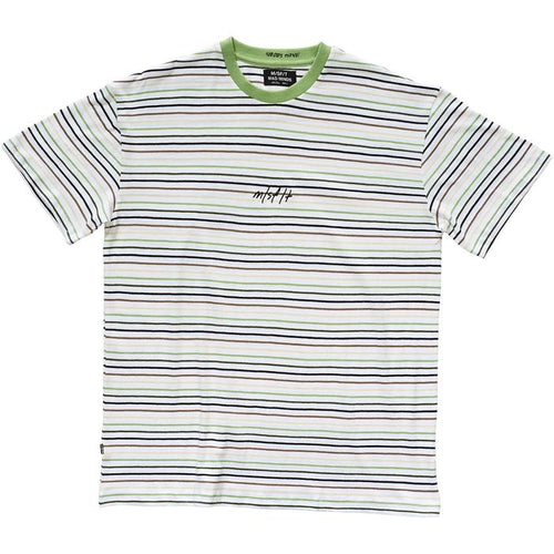 Misfit New Liver Stripe Tee White