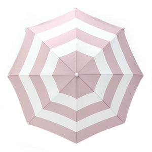 Business and Pleasure Holiday Umbrella-Pink Stripe