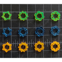 Laser Cut SMA Thumb Nut - 1PC