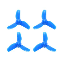 40mm 3-blade Micro Whoop Propellers (1.0mm Shaft)