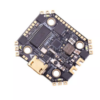 JHEMCU GHF13 AIO F4 OSD Flight Controller w/ Built-in 13A Blheli_S 2-4S 4 In 1 Brushless ESC
