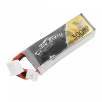 Tattu 300mAh 7.6V 75C 2S1P Lipo Battery Pack with JST-PHR Plug