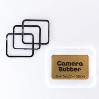Camera Butter Replacement Adhesive for GoPro Hero 5/6/7 - 3PCS