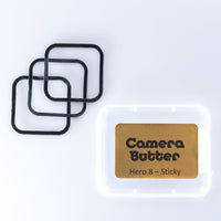 Camera Butter Replacement Adhesive for GoPro Hero 8/9 - 3PCS