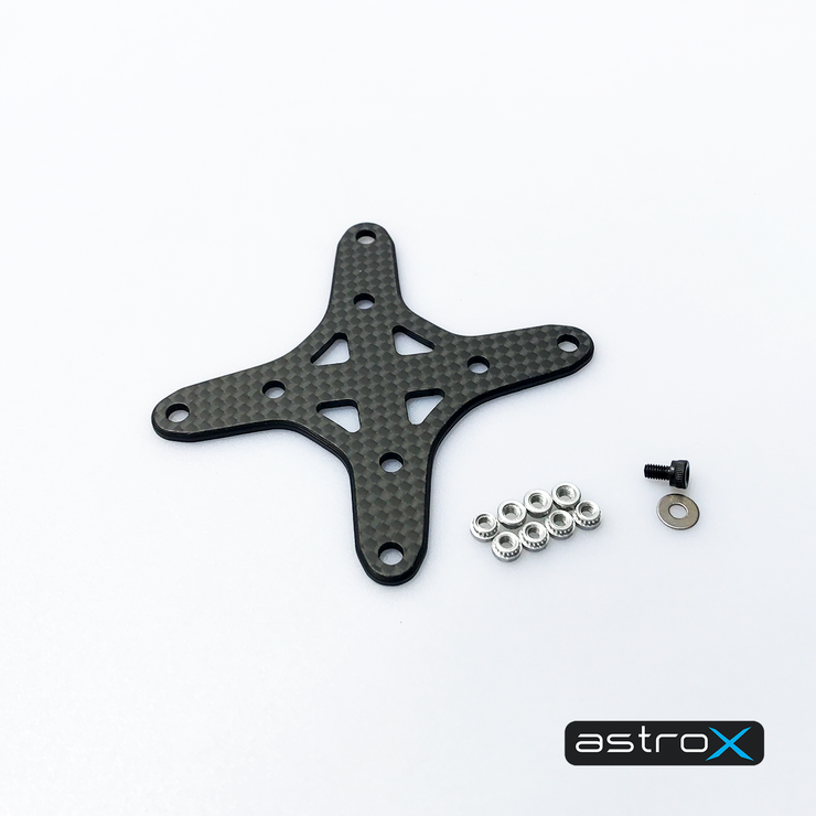 Reinforce X Brass 2mm + Alu6061 hardware set for Stretch and Freestyle
