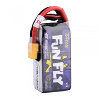 Tattu FunFly 14.8V 4S 1300mAh 100C LiPo Battery - XT60