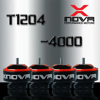 XNova T1204 FPV Racing Series Motor w/ Plugs - 4000KV - 4PCS Combo