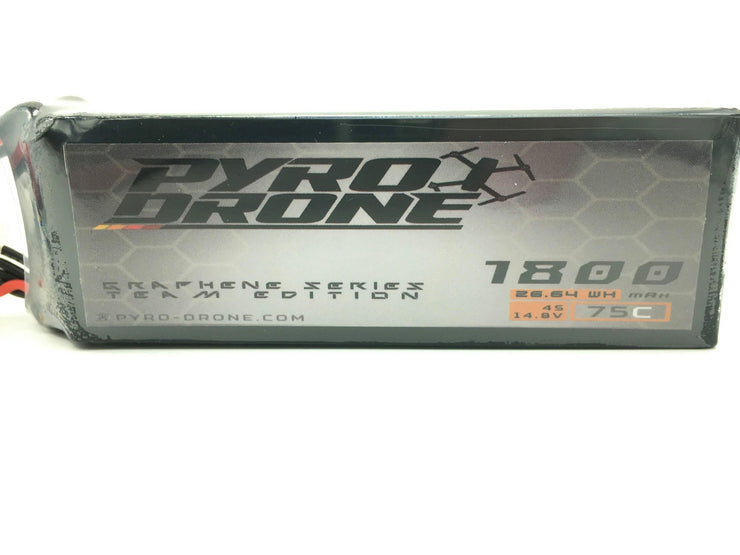 Pyro-Drone Graphene 1800mAh 4S 14.8V 75C By Who Cares!