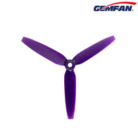 "Gemfan 513D 5149 Tri-Blade 5"" Prop 2CW+2CCW - Choose Color"