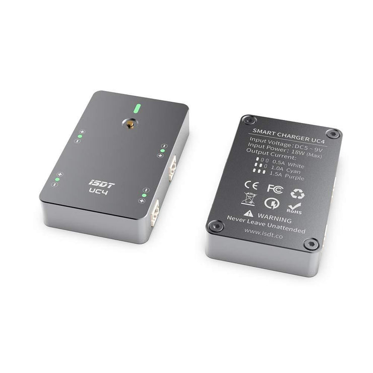 ISDT UC4 Smart 1S LiPo Battery Charger