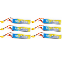 6 Pack - APEX 520mah 3s HV 11.4v LiHV Battery - XT30