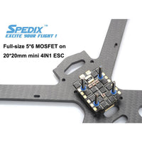 Spedix IS40 4 IN 1 Mini ESC BLHELI-S