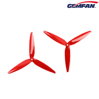 "Gemfan Flash 7040 Tri-Blade 7"" Prop 4 Pack - (Choose Color)"