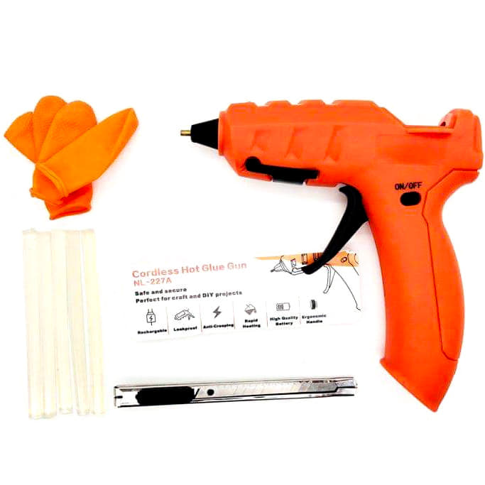 NL-227A Wireless Hot Glue Gun