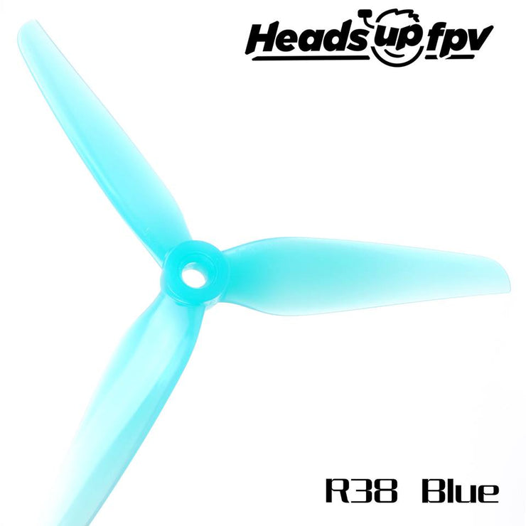 HQ HEADSUPFPV R38 Racing Propeller (2CCW+2CW)
