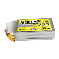 Tattu R-Line 750mAh 11.1V 95C 3S1P Lipo Battery Pack - XT30