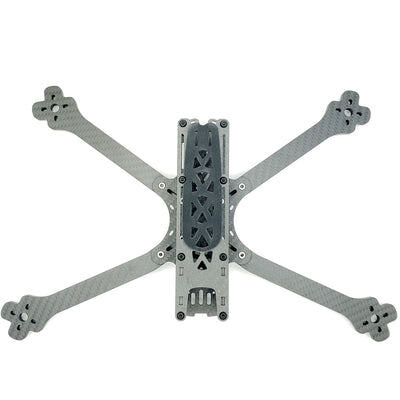 "PYRODRONE SOURCE ONE V3 7"" Long Range Frame - 6mm V0.2 Deadcat Arms"