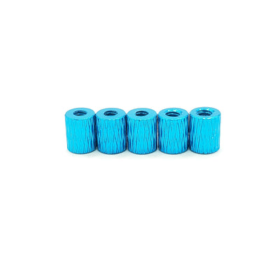 5MM THREADED M2 ANODIZED STACK SPACER (5 Pcs.)