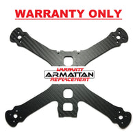 "WARRANTY ONLY - Armattan Chameleon Ti 5"" Main Plate (shim plate included)"