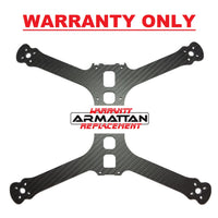 "WARRANTY ONLY - Armattan Chameleon Ti LR 7"" Main Plate (shim plate included)"