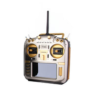 (PRE-ORDER) RadioMaster TX16S MAX Edition - Gold face plate, Gold CNC parts and Brown Leather Grips