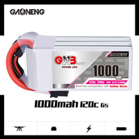 Gaoneng GNB GAONENG 1000mah 6S 22.2V 120c lipo battery for FPV Drone RC