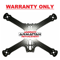 "WARRANTY ONLY - Armattan Marmotte 5"" Main Plate Space Grade"