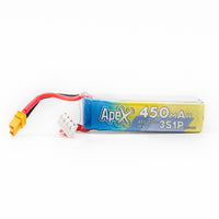 6 Pack - APEX 450mah 3s HV 11.4v LiHV Battery - XT30