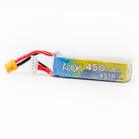 APEX 450mah 4s HV 15.2v LiHV Battery - XT30