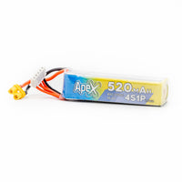 APEX 520mah 4s HV 15.2v LiHV Battery - XT30